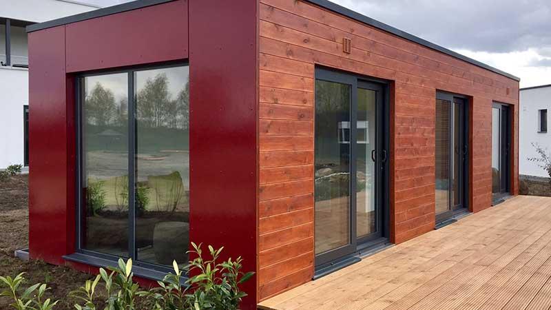 Berühmt Containerhaus eine echte Alternative zum normalen Bauen VE97