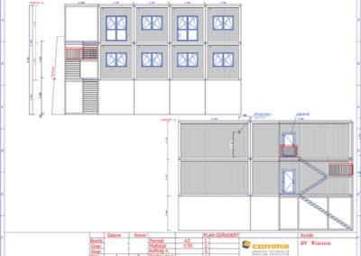 Ansicht-A-+-D_Neubau-Bürogebäude-inkl.-Aufstockung