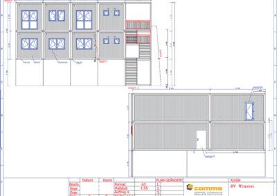 Ansicht-B-+-C_Neubau-Bürogebäude-inkl.-Aufstockung