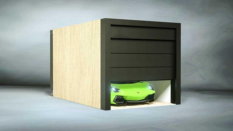 Garagen Container garage carports bausatz container günstig autostellplatz