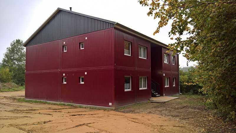 Fertighaus modulbauweise wohncontainer container haus for Wohncontainer fertighaus