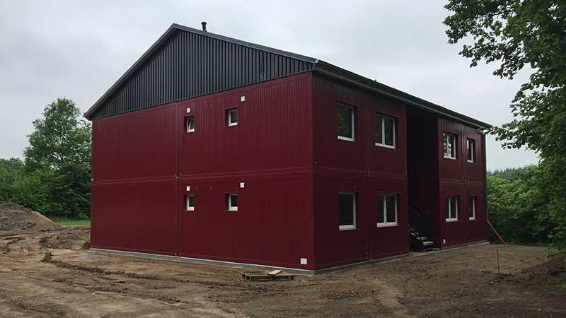 fertighaus modulbauweise wohncontainer container haus musterpark. Black Bedroom Furniture Sets. Home Design Ideas