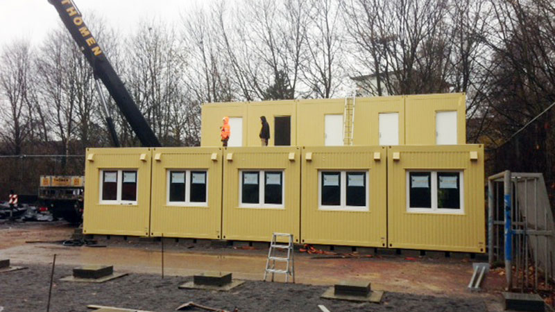 Wohncontainer, Raumcontainer, Mannschaftscontainer, Bürocontainer