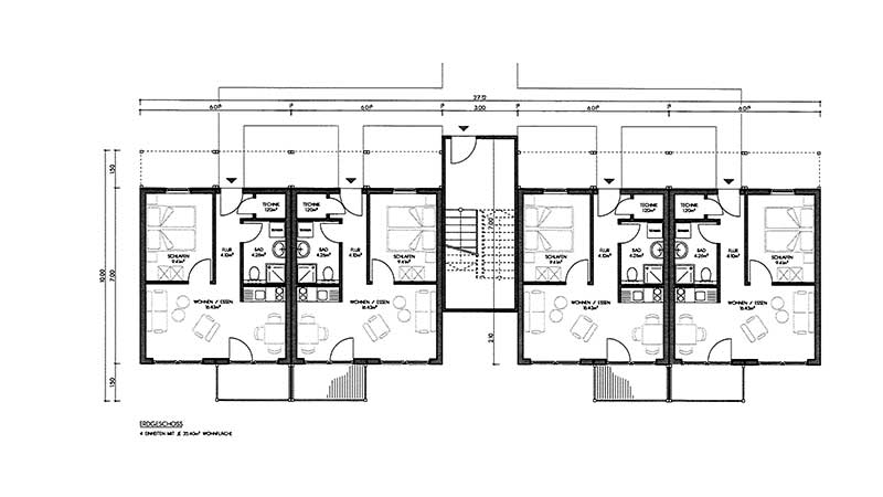 Expresswohnungen Modularer Bauweise Zinshauser Musterhaus