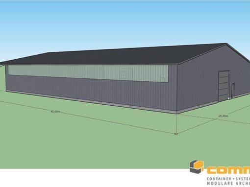 Neubau Fahrzeughalle