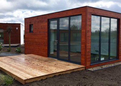 Containerhaus Sauna