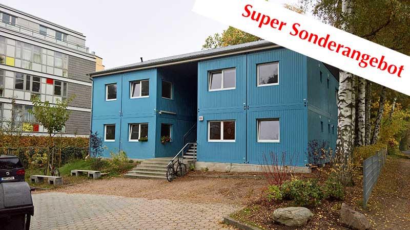 Super-Sonderangebot – 1 Stk. Mehrfamilien- Modulgebäude