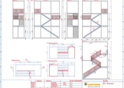Treppenturm_Neubau-Bürogebäude-inkl.-Aufstockung