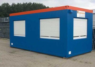 Verkaufs und Büro Container