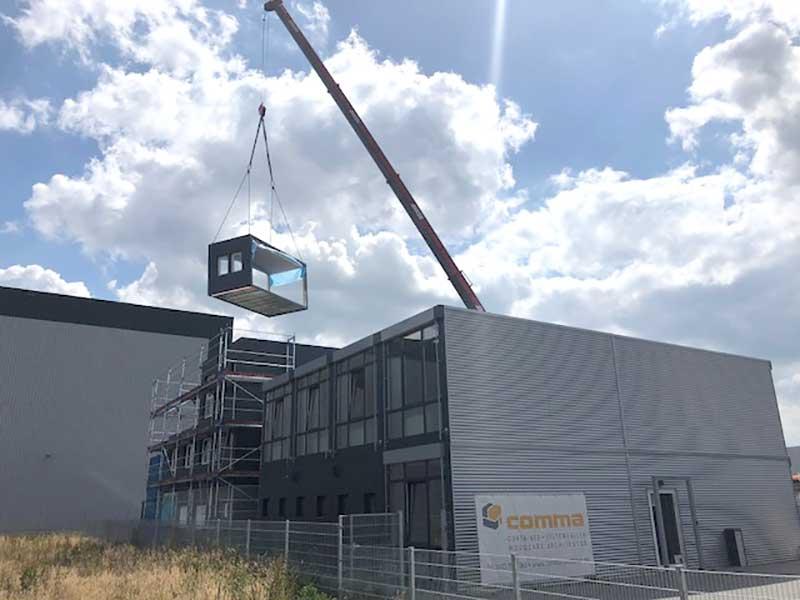 Neubau einer Büroanlage