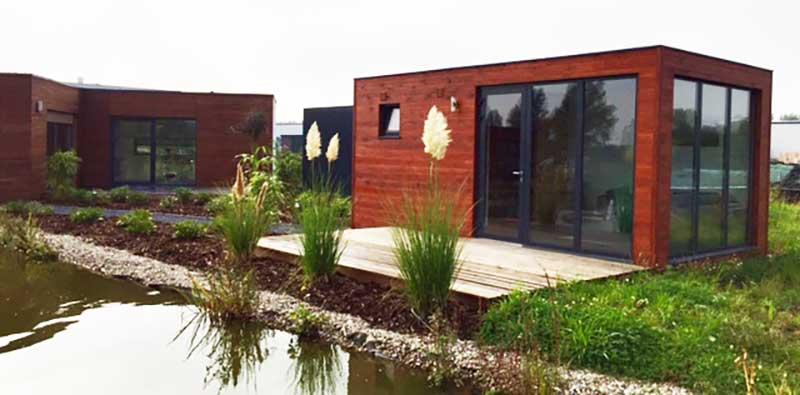 modularer musterpark containerhaus ausstellung wohncontainer. Black Bedroom Furniture Sets. Home Design Ideas