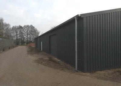 fahrzeughalle bauen