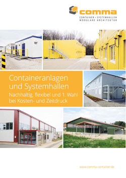 Containeranlagen und Systemhallen Prospekt Download