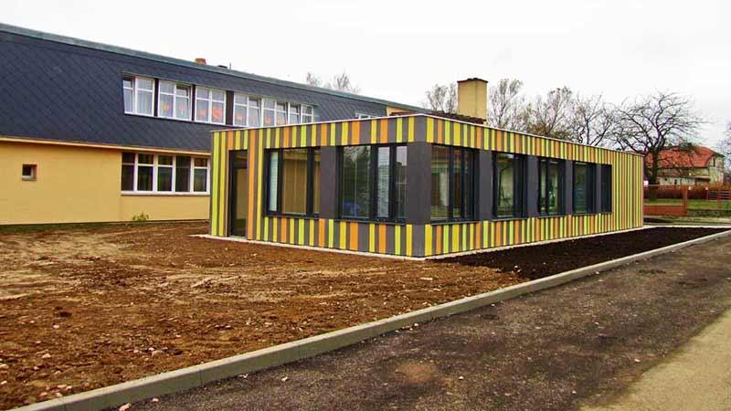 Holzrahmenbau Container Holzbau Holzbausysteme