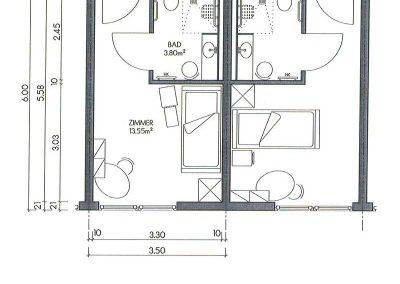 "Containerhaus, modularer Aufbau, ""Pflegezimmer"""