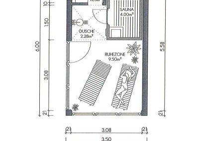 Containerhaus, Freizeit mit Naßzelle, Wc, Duschbereich und Ruhezone