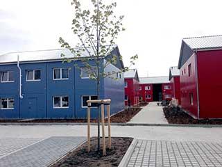Containerhaus, Comma Sozialbauten