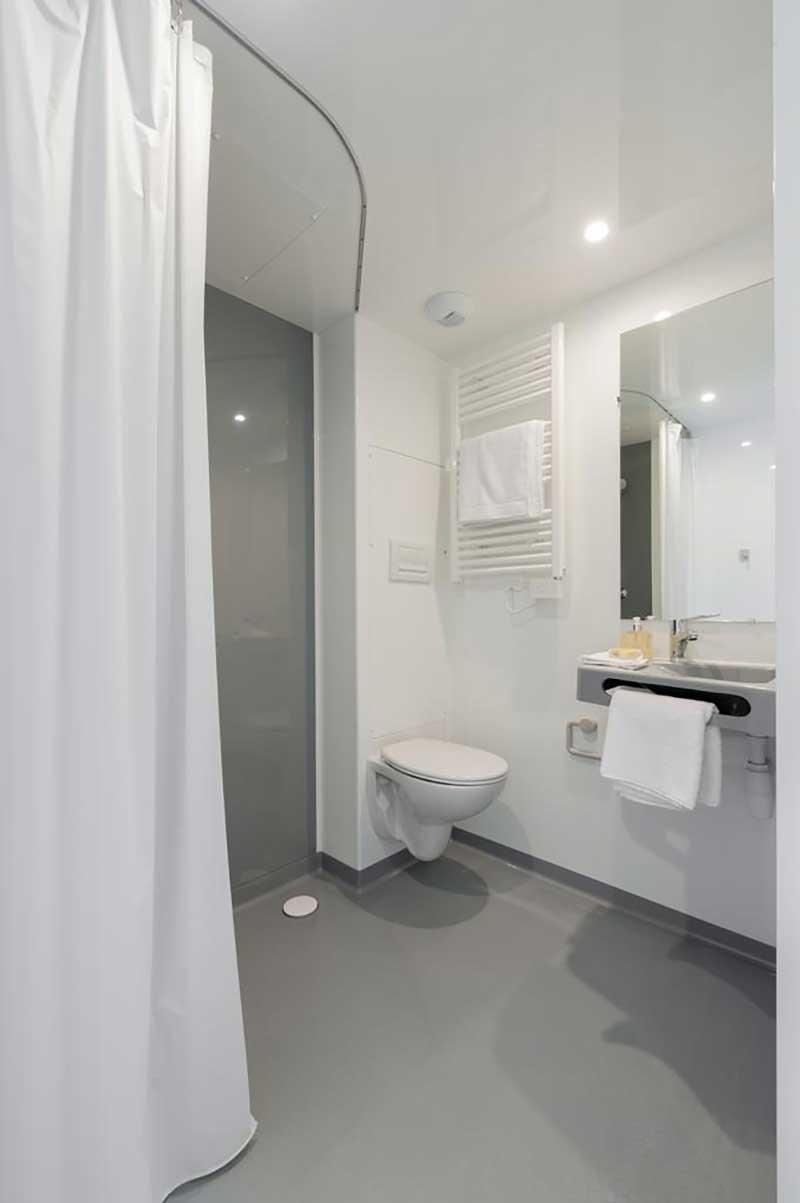 expresswohnungen modularer bauweise zinsh user musterhaus. Black Bedroom Furniture Sets. Home Design Ideas