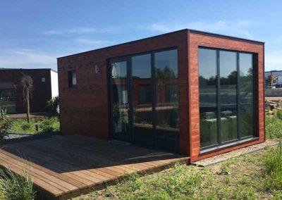 Sauna Modul Containerbau